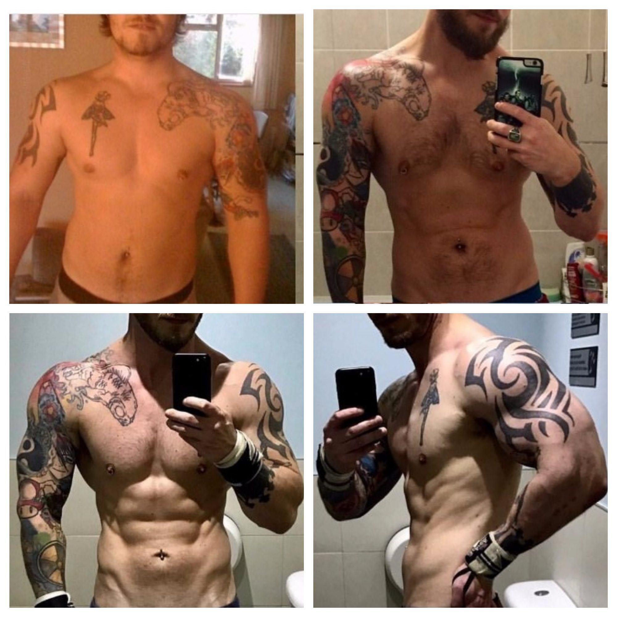 Online Personal Training Transformation