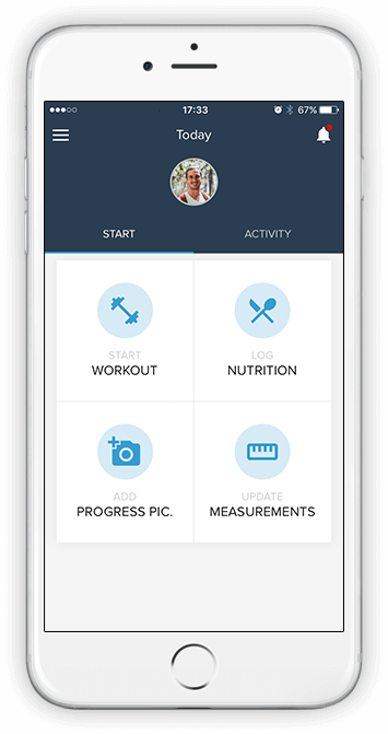 Online Personal Training Mobile App